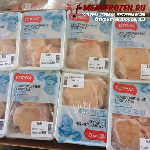 Бедро куриное без хребта Беларусь Петруха есть доставка автотранспортом фирмы
