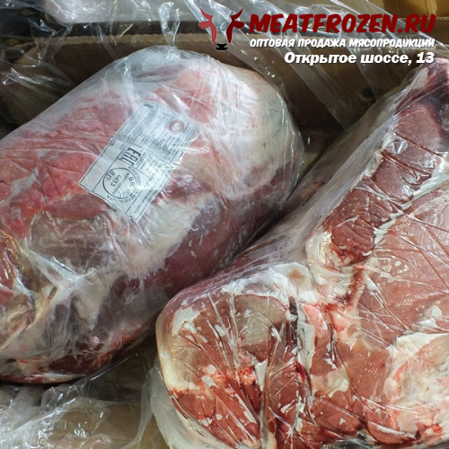Лопатка говяжья без кости замороженная Бразилия бренд Mafripar