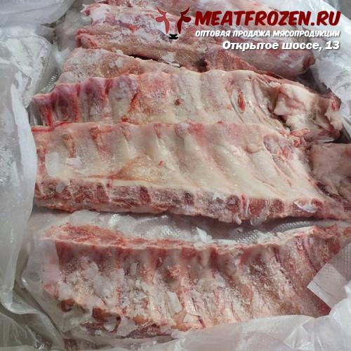 Ребро свиное лента Мясокомбинат Бобровский