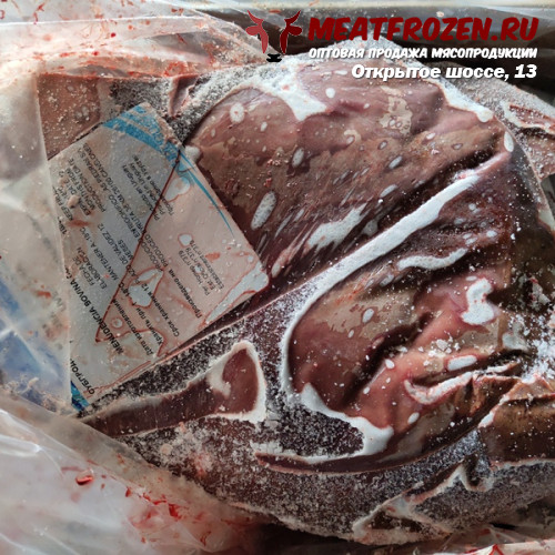 Печень говяжья Уругвай FRIGORIFICO LAS PIEDRAS sif № 379